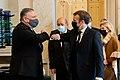 Secretary Pompeo Bids Farewell to French President Macron Following Their Meeting in Paris (50610555332).jpg