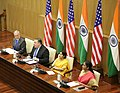 Secretary Pompeo Delivers Closing Remarks at the India 2+2 Dialogue (43603751185) (cropped).jpg