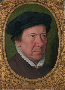 Self portrait, by Pieter Claeissins (I).jpg