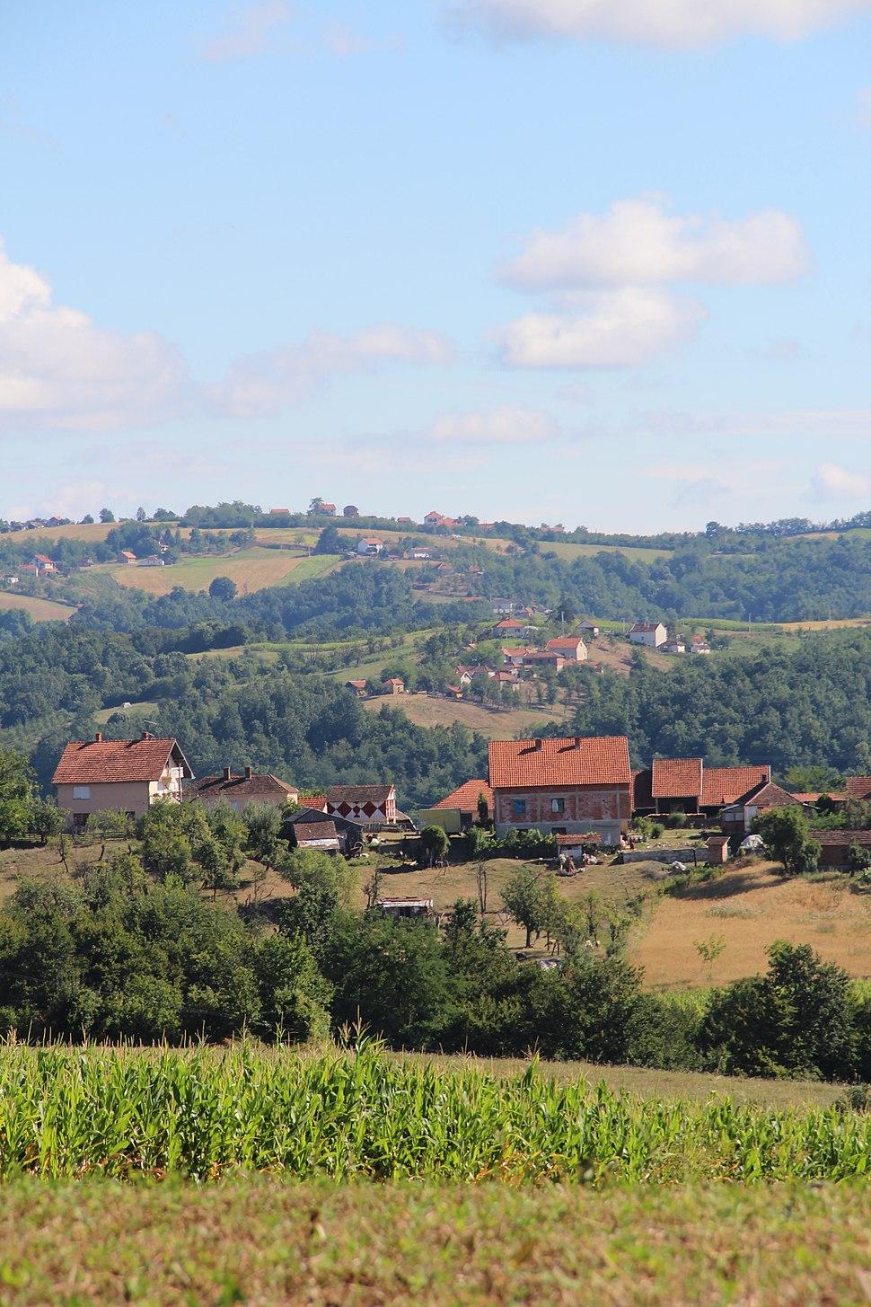Selo Beomužević - opština Valjevo - zapadna Srbija - Panorama 15