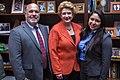 Senator Stabenow meets with members of Earthjustice. (27945890116).jpg