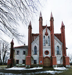 Senieji Trakai Church facade.jpg