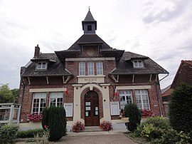 The town hall of Sequehart