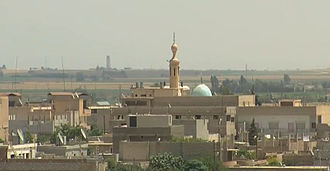 Kurds in Syria - On 22 July 2012, Serê Kaniyê (Ra's al-'Ayn) pictured above and a series of other towns in the Kurdish inhabited northeast of Syria were captured by the People's Protection Units (YPG).