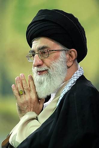 Ayatollah - Seyyed Ali Khamenei, supreme leader of Iran, as a marja' of Shia