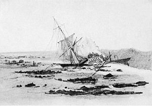 Montgomery Sicard - The wrecking of the Saginaw