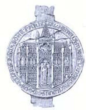 Shaftesbury Abbey - The Great Seal of Shaftesbury Abbey