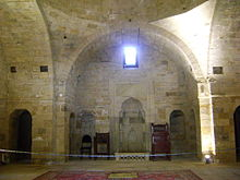 Shahs-khans mosque shirvanshahs palace built in 1141 baku azerbaijan3.jpg