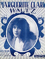 Sheet music cover - MARGUERITE CLARK WALTZ (1917).jpg