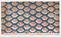 Sheet with overall pattern of ovals with red designs Met DP886636.jpg