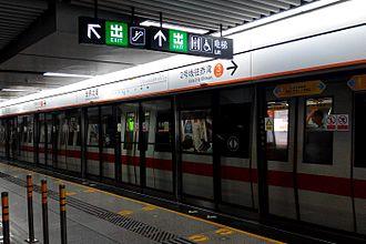 Line 2 (Shenzhen Metro) - Train exterior