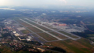 Sheremetyevo International Airport - Image: Sheremetyevo view
