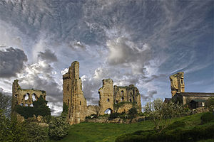 Sheriff Hutton Castle - Image: Sheriff hutton castle