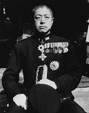 Kiyohide Shima - Admiral Kiyohide Shima