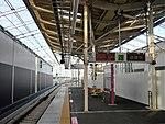 Shin-Keisei Shin-Kamagaya Station track No.1 201807 03.jpg
