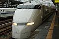 Shinkansen and Himeji Station M9 57.jpg