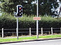 Shotton Sign, Chester Road West, Deeside.JPG