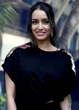 Shraddha Kapoor at a promotion of 'Haseena Parkar'.jpg