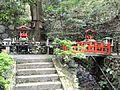 Shrine with bridge - Kurama-dera - Kyoto - DSC06720.JPG