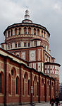 Side and dome - Santa Maria delle Grazie - Milan 2014 (2)