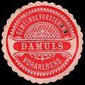 Siegelmarke Gemeindevorstehung Damüls - Vorarlberg W0260971.jpg