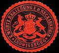 Siegelmarke K. Württembergische Regierung für den Neckarkreis - Ludwigsburg W0256045.jpg