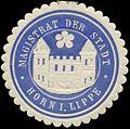 Siegelmarke Magistrat der Stadt Horn in Lippe W0349218.jpg