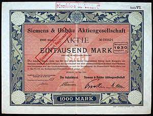 Siemens & Halske - Image: Siemens & Halske 1920