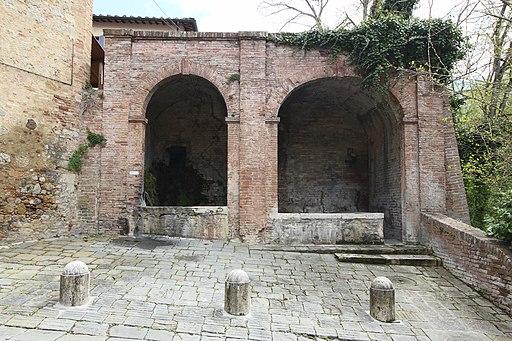 Siena, Fonte di San Carlo
