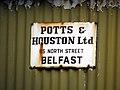 Sign, Ballylesson - geograph.org.uk - 756932.jpg