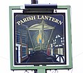 Sign for the Parish Lantern, Whiteparish - geograph.org.uk - 652928.jpg