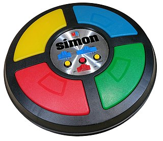 <i>Simon</i> (game) electronic game of memory skill