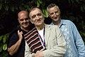 Simon Emerson, Martin Carthy and Billy Bragg (2732894645).jpg