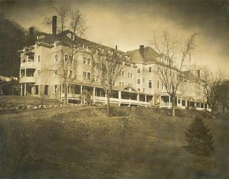 Nyack College -  Simpson Hall in Nyack, New York before renovations
