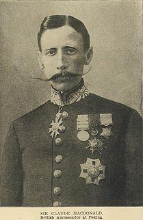 Claude Maxwell MacDonald British diplomat
