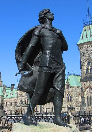 Ernest Wise Keyser - Image: Sir Galahad statue