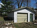 Sixth Street West 817 garage, Bloomington West Side HD.jpg