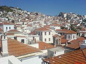 Skopelos (town) - View of Skopelos