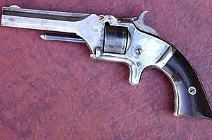 Model 1 Second issue .22 rimfire revolver c po...