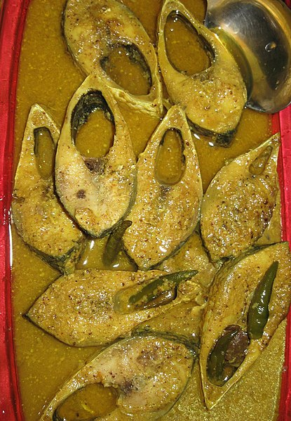 File:Smoked Hilsa cooked with Mustard seeds.jpg