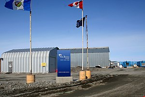 De Beers - The De Beers Snap Lake Mine in Canada