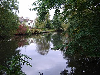 River Ingol - Snettisham Mill Pond on the River Ingol