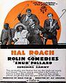 Snub Pollard & Ernie Morrison 2 - Rolin Comedies Ad 1920.jpg