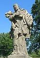 Socha svatého Jana Nepomuckého v centru Brtníků (Q104873567) 02.jpg