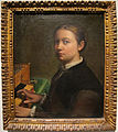 Sofonisba anguissola, autoritratto con spinetta, 1554-55, Q358.JPG