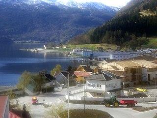 Sogndalsfjøra Village in Western Norway, Norway