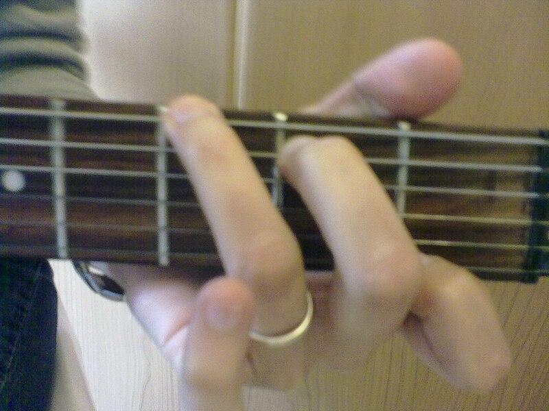 diagrama per accordi sulla chitarra