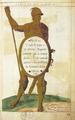 Soldado Português - vinheta do Canto X, Svcesso do Segvndo Cerco de Div, Jerónimo Côrte-Real, 1574.png