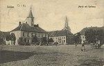 Soldau, Ostpreußen - Marktplatz mit Rathaus (Zeno Ansichtskarten).jpg