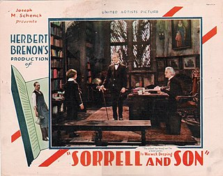 <i>Sorrell and Son</i> (1927 film) 1927 film by Herbert Brenon
